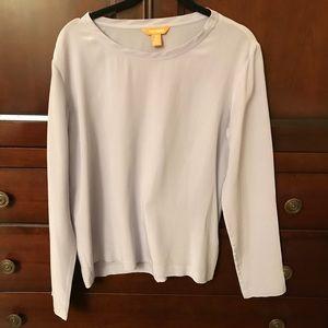 Joe Fresh Lilac long sleeved blouse